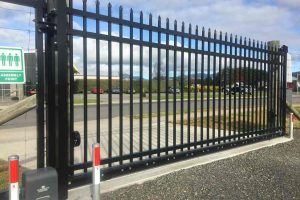 Katikati Super Storage automatic security gate