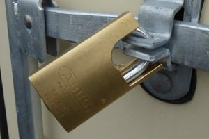 Katikati Super Storage - padlock security